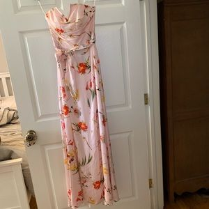 NWT TED BAKER ALANAH BOTANICAL BLOOM MAXI GOWN